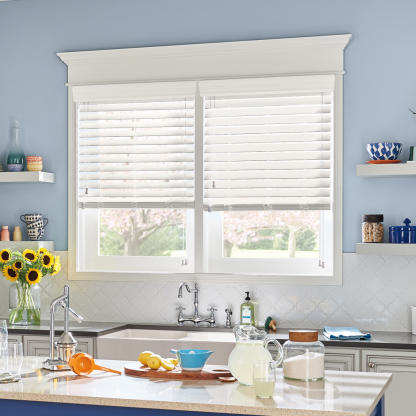 Shop Moisture Resistant Blinds and Shades at Lowe's on wood kitchen ideas, skylight kitchen ideas, window kitchen ideas, roman shades kitchen ideas,
