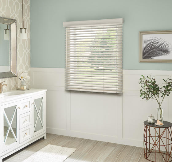 Custom Bali Faux Wood Blinds At Lowe S Custom Blinds Shades Store